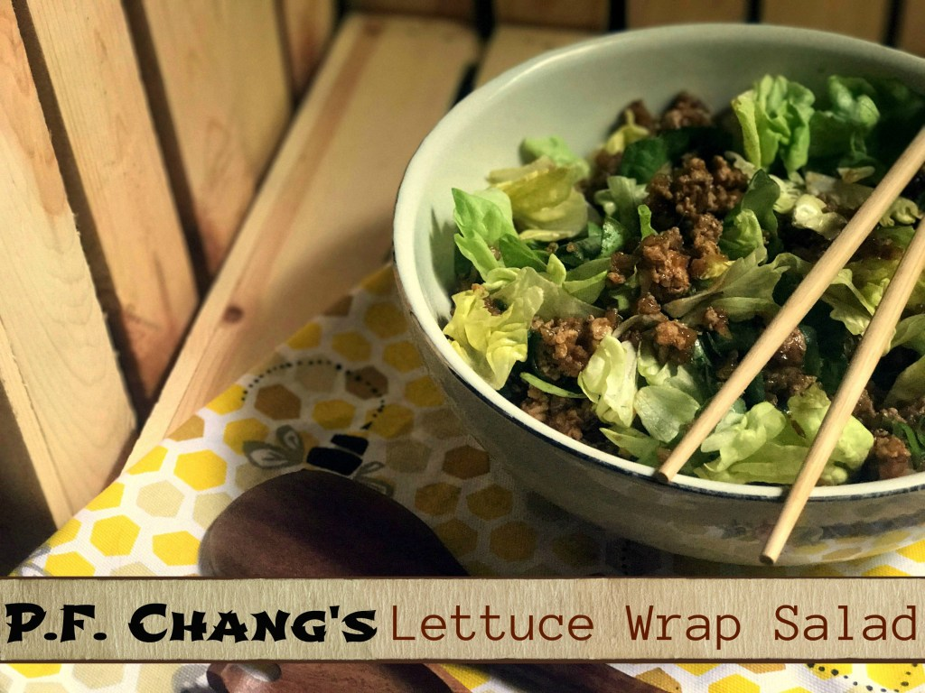 P.F. Chang's Lettuce Wrap Salad | Aunt Bee's Recipes