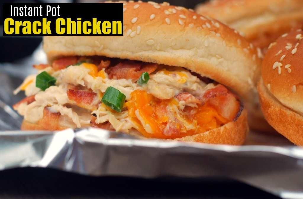 Instant Pot Crack Chicken   Aunt Bee's Recipes