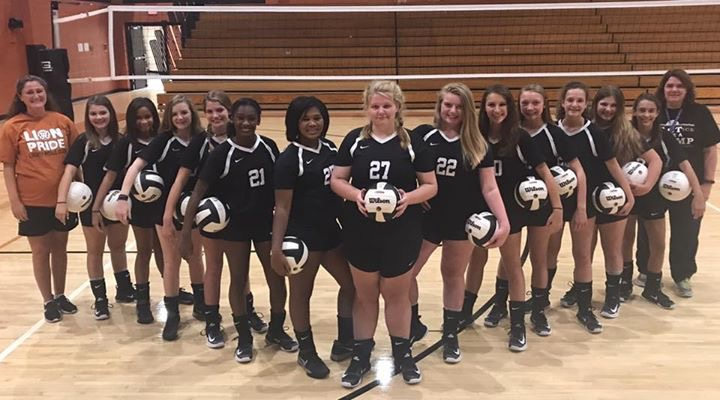 Liberty Volleyball Team Pic 2017