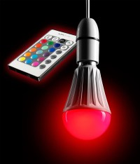 AURAGLOW 10w Remote Control Colour Changing LED B22