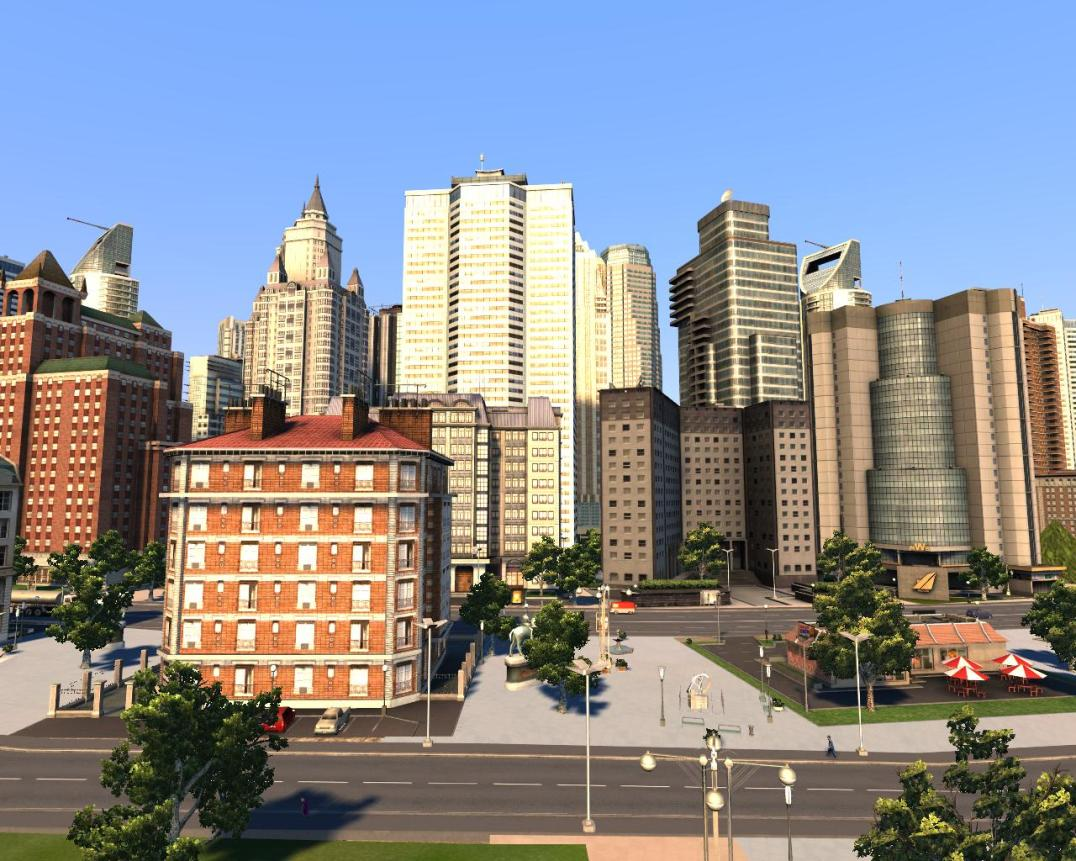 Cities XL skyscrapers