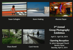 Dr. Dayan is Exhibiting Her Photographs In A Group Show