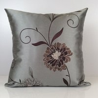 Gray Till, Tan and Brown Pillow, Throw Pillow Cover ...