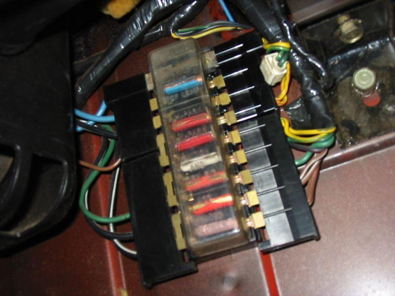ford xb fuse box
