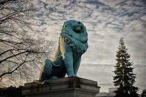 Der Flensburger Löwe am Wannsee