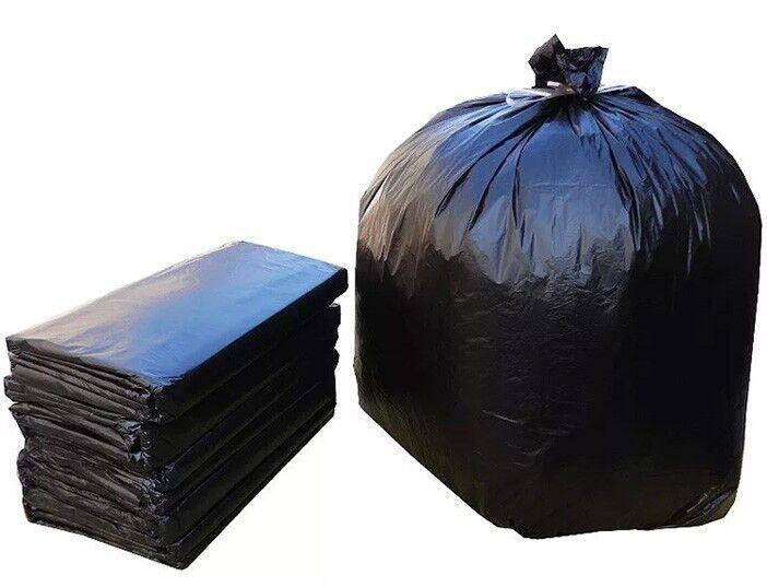 140L Heavy Duty Black Bag