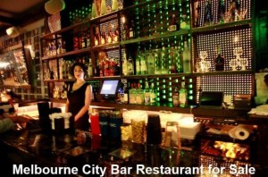 Melbourne City Bar Restaurant for Sale