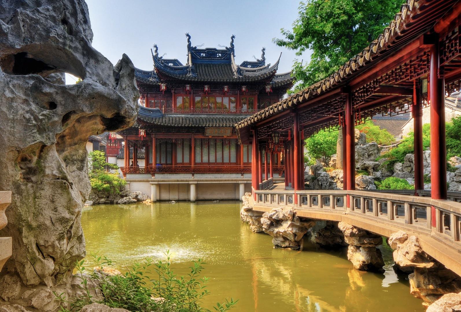 Showdown beijing or shanghai for Jardin yu shanghai