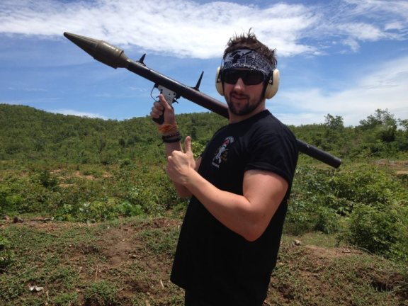 You don't mess with Adrian Landsberg of The Lifestyle Compound