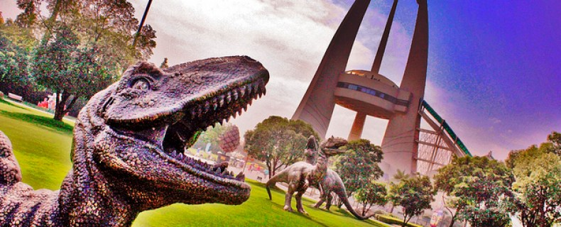 Halloween at the Changzhou Dinosaur Park