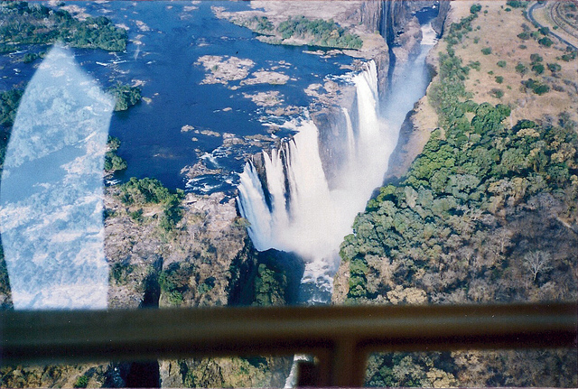 helicopter tour victoria falls