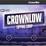 Crownlow AFL Tipping Comp – $100,000+ in Cash & Prizes