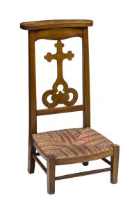 ITALIAN PRAYER CHAIR/KNEELER 19TH CENTURY - DAY #2, FINE ...