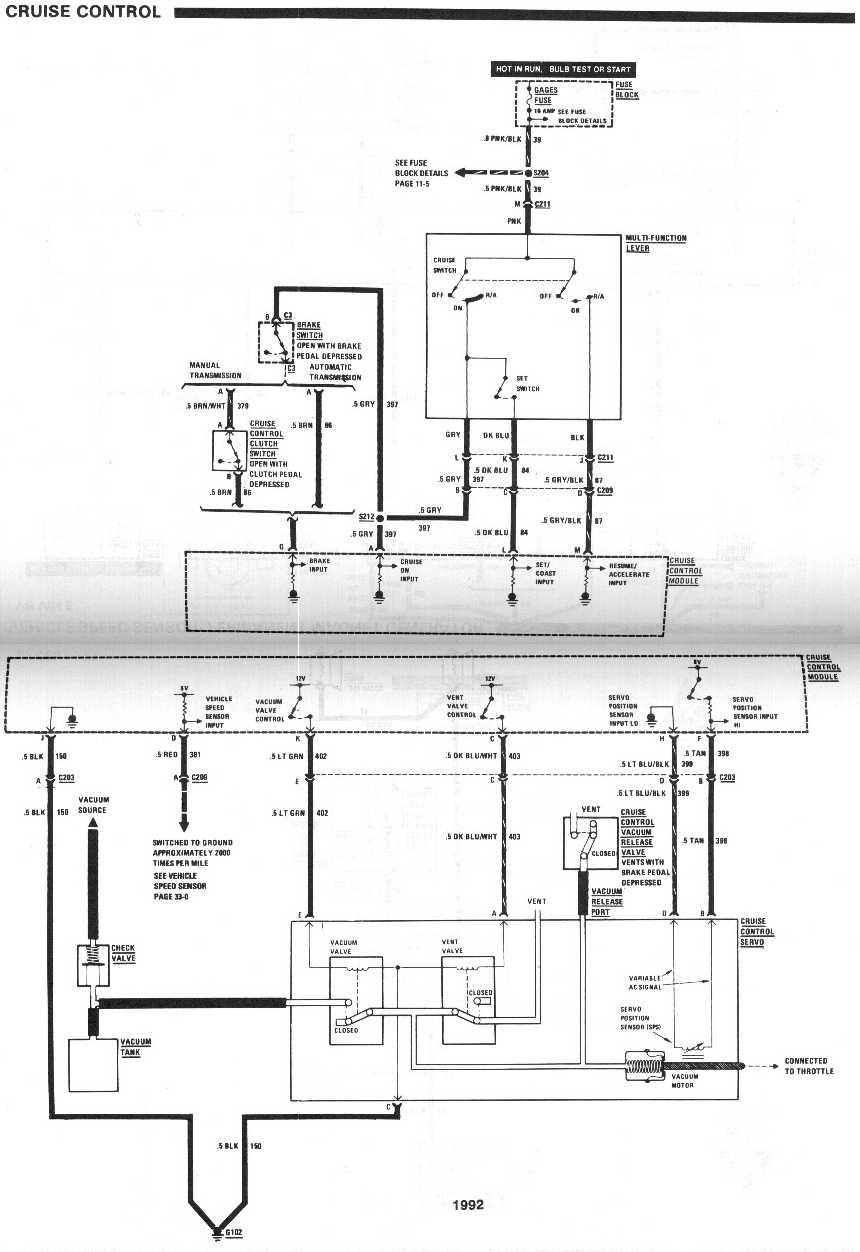 gm cruise control wiring