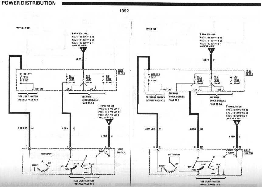 1998 chevy lumina starter wiring diagram