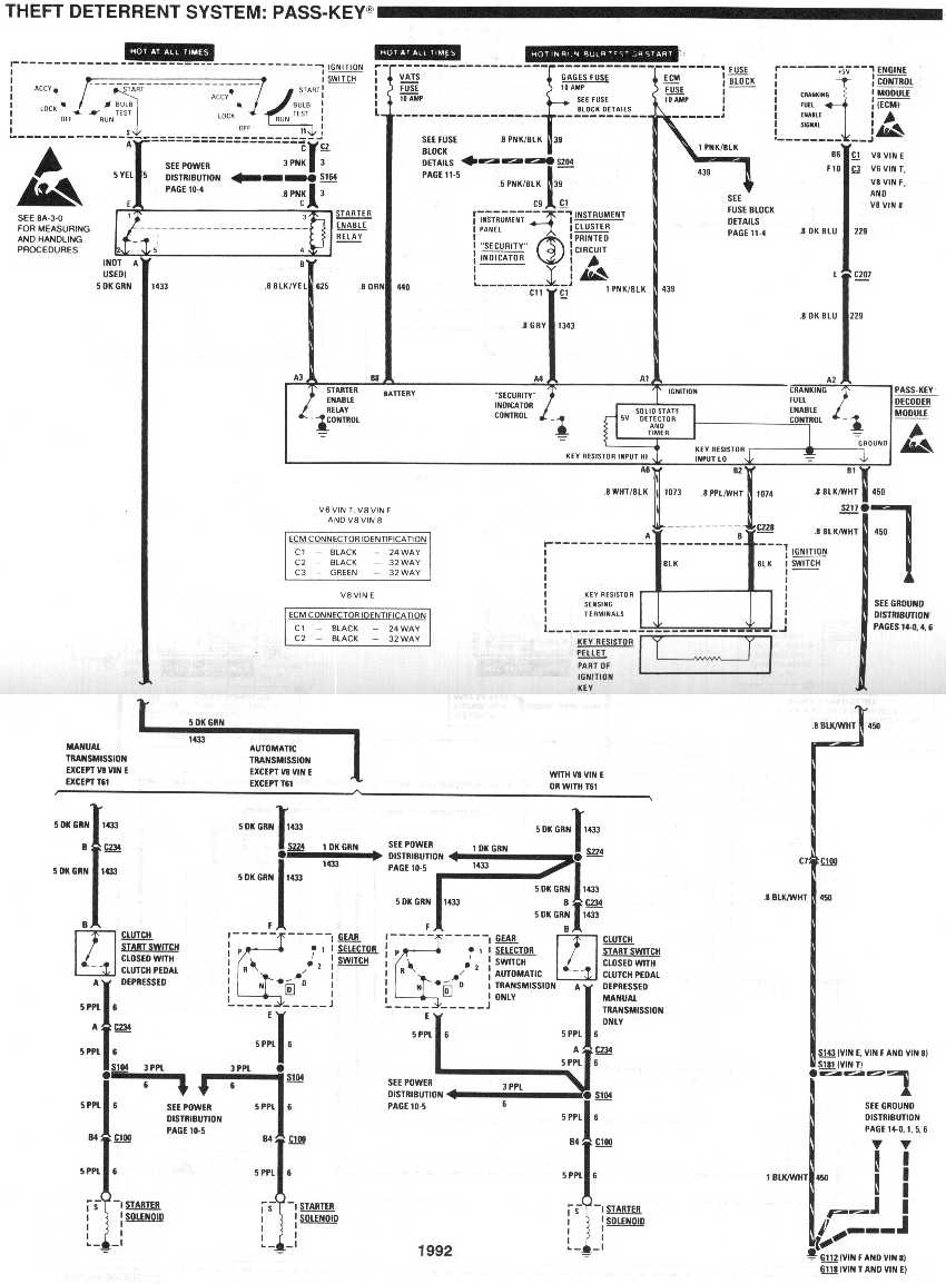 1992 lt1 ignition wiring diagram