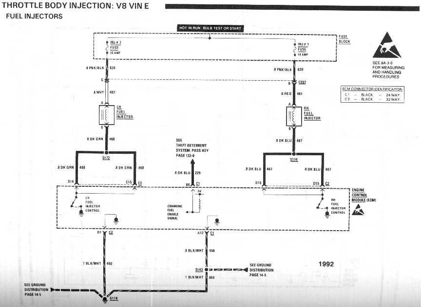 Tpi Throttle Body Diagram
