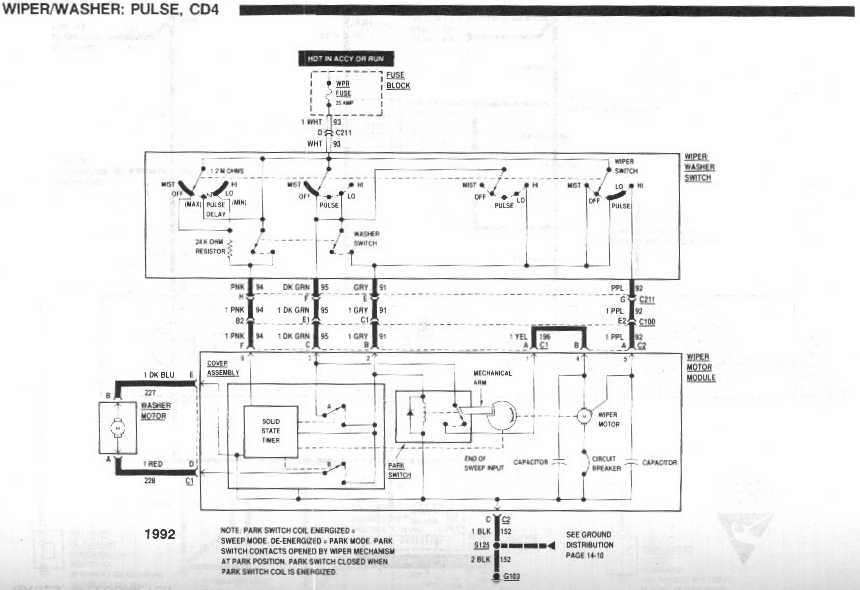 Gm 5 Wire Wiper Schematic - Wwwcaseistore \u2022