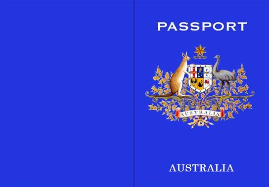 Australian Passport Template - Kids can go anywhere! - Australian - passport template