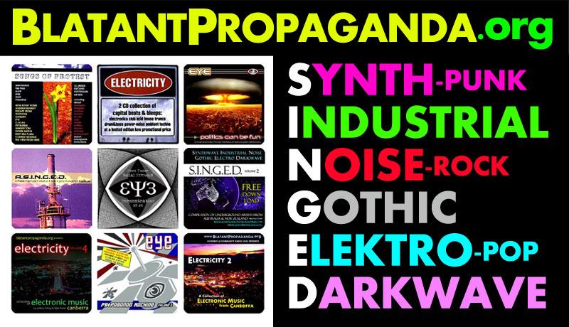 Australian Dark Alternative Post Punk Industrial Gothic Music