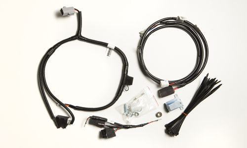 trailer wiring harness with electric brakes