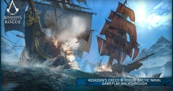 Assassin's Creed ® Rogue Arctic Naval Gameplay Walkthrough [SCAN]