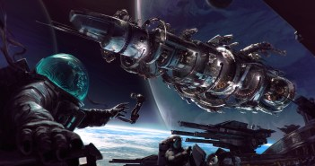 Fractured Space Key Art