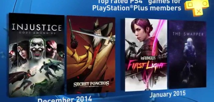 PS Plus | Your monthly PS4 games for December 2014 and January 2015