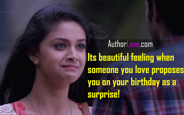 Girl Propose To Boy Wallpaper With Quotes Its Beautiful Feeling When Someone You Love Movie Love