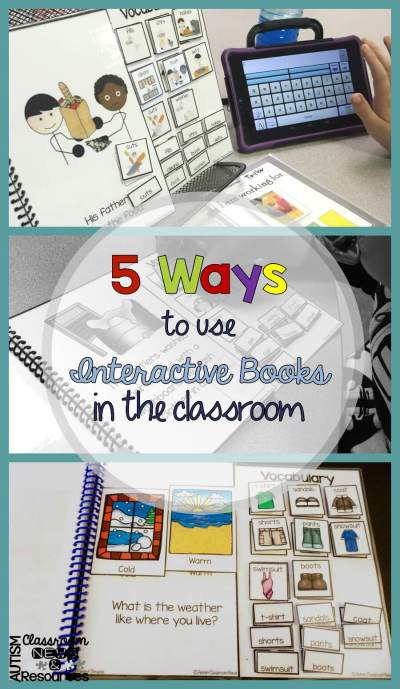 5 Ways to Use Interactive Books in the Classroom