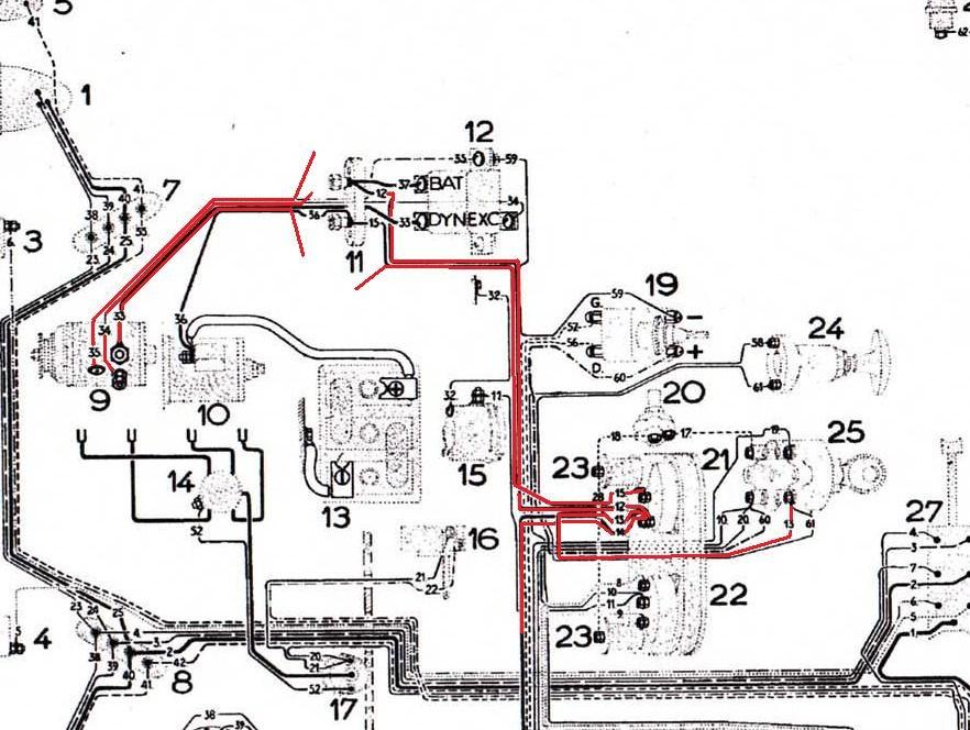 1955 plymouth schema cablage