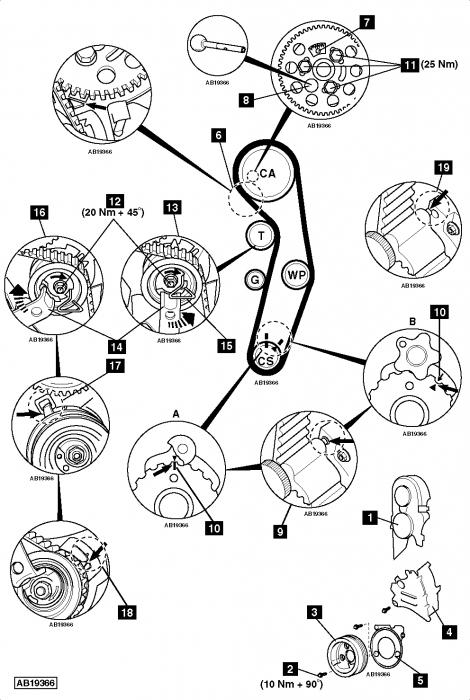 schema moteur volkswagen