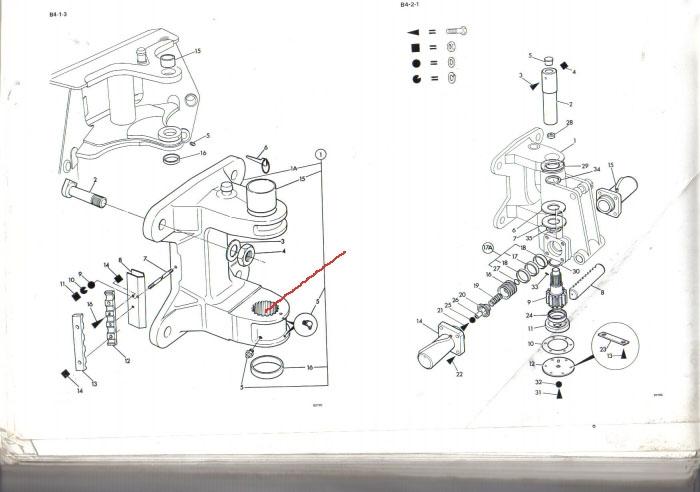 kubota schema cablage moteur de machine