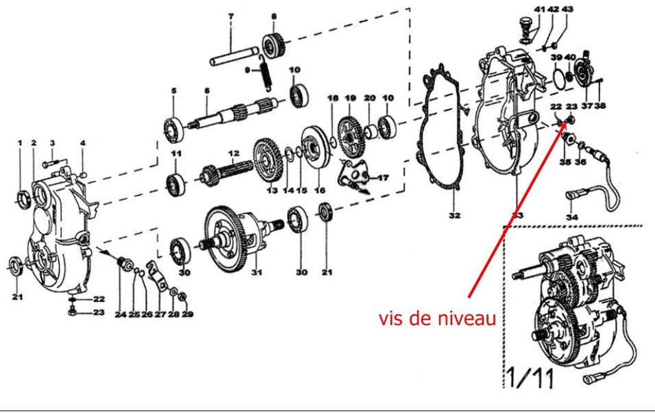 2001 nissan Schema moteur