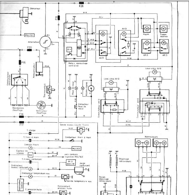 jaguar schema cablage xj6