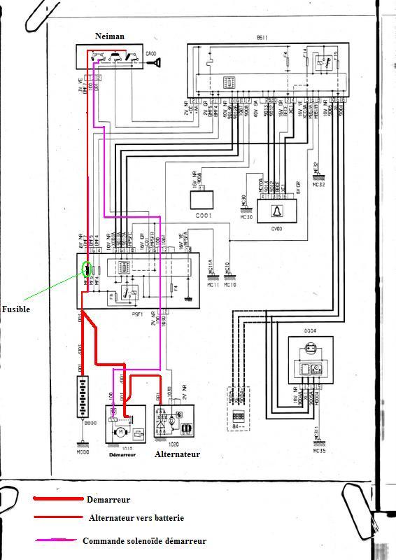 schema moteur citroen c4 picasso