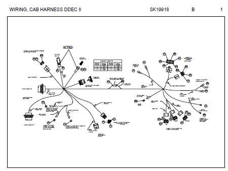 Peterbilt 387 Engine Harness Wiring Diagram (Cummins ISX  Signature