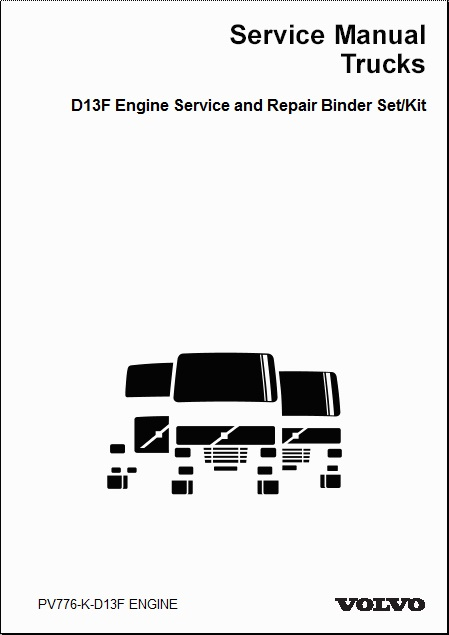 volvo truck d11f engine service and repair manual