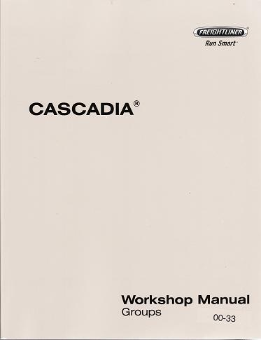 Freightliner Cascadia Truck Factory Service Manual  Wiring Diagrams