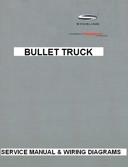 2007 - 2009 Sterling Bullet Truck Factory Service Manual  Wiring