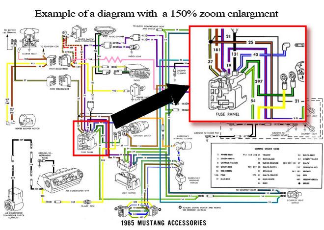 1965 Mustang Wiring Diagram Wiring Diagram Automotive
