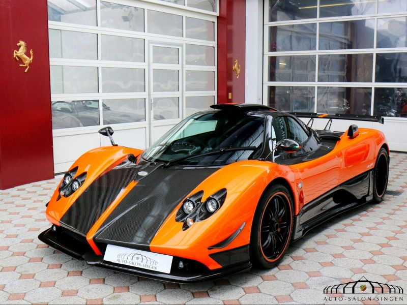 Car Parking Wallpaper Pagani Zonda Cinque Coup 233 Auto Salon Singen