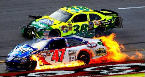 Dale Earnhardt Jr Car Wallpaper Nascar Matt Kenseth Gagne 224 Talladega 25 Voitures