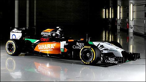 Formula 1 Car Hd Wallpapers F1 Sahara Force India Introduces 2014 Vjm07 Mercedes