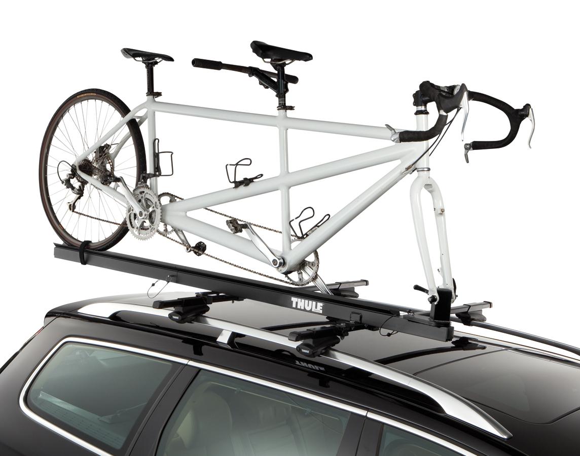 Thule 558p Tandem Bike Rack Roof Mount Bike Carrier