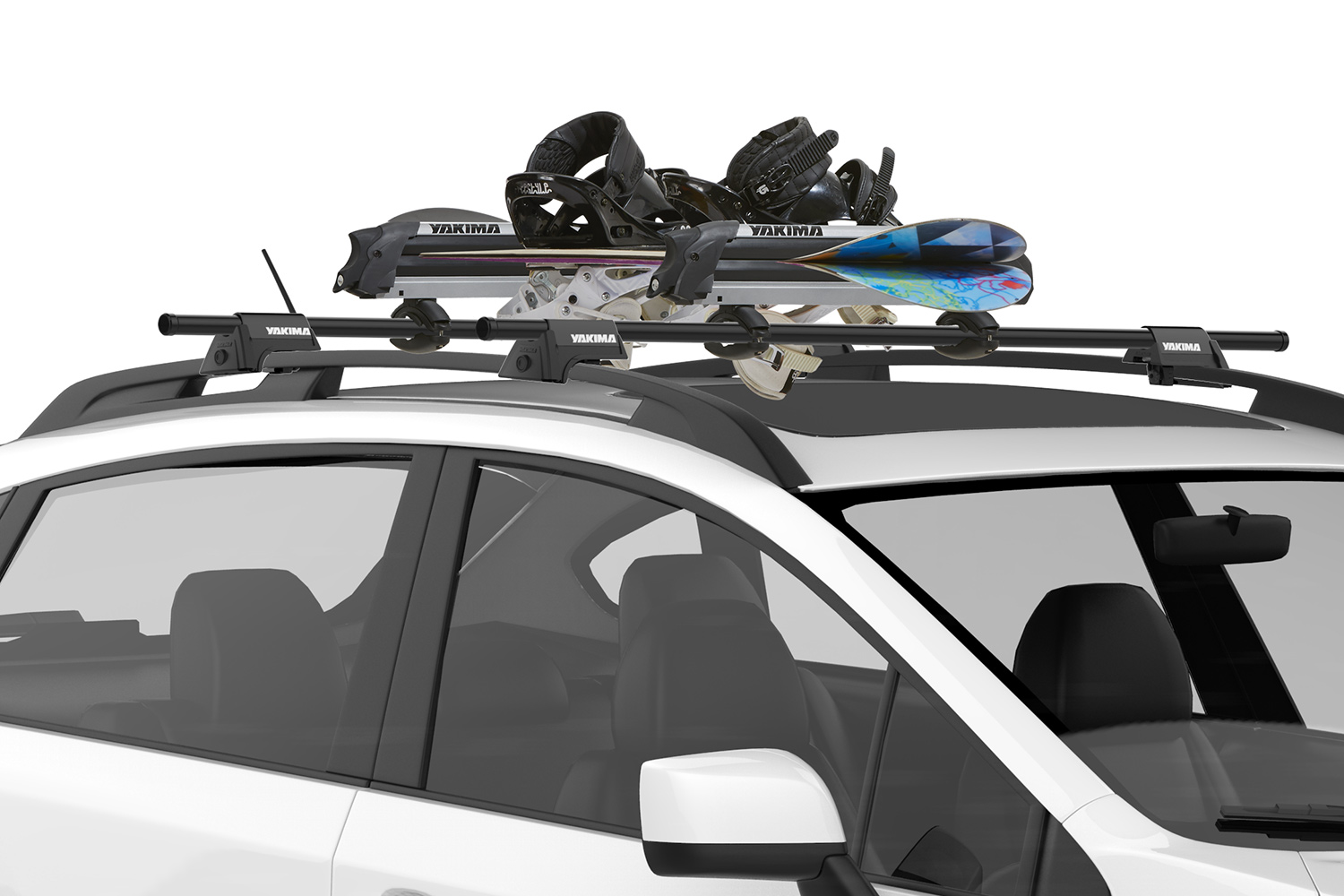 Yakima Ski Rack Yakima Big Powderhound Snoboard Ski Rack