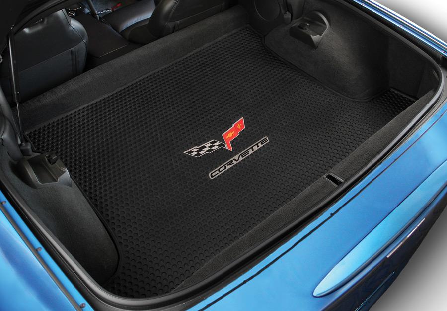 Lloyd Corvette Signature Rubber Logo Floor Mats Custom