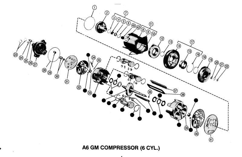 automotive air conditioning diagram