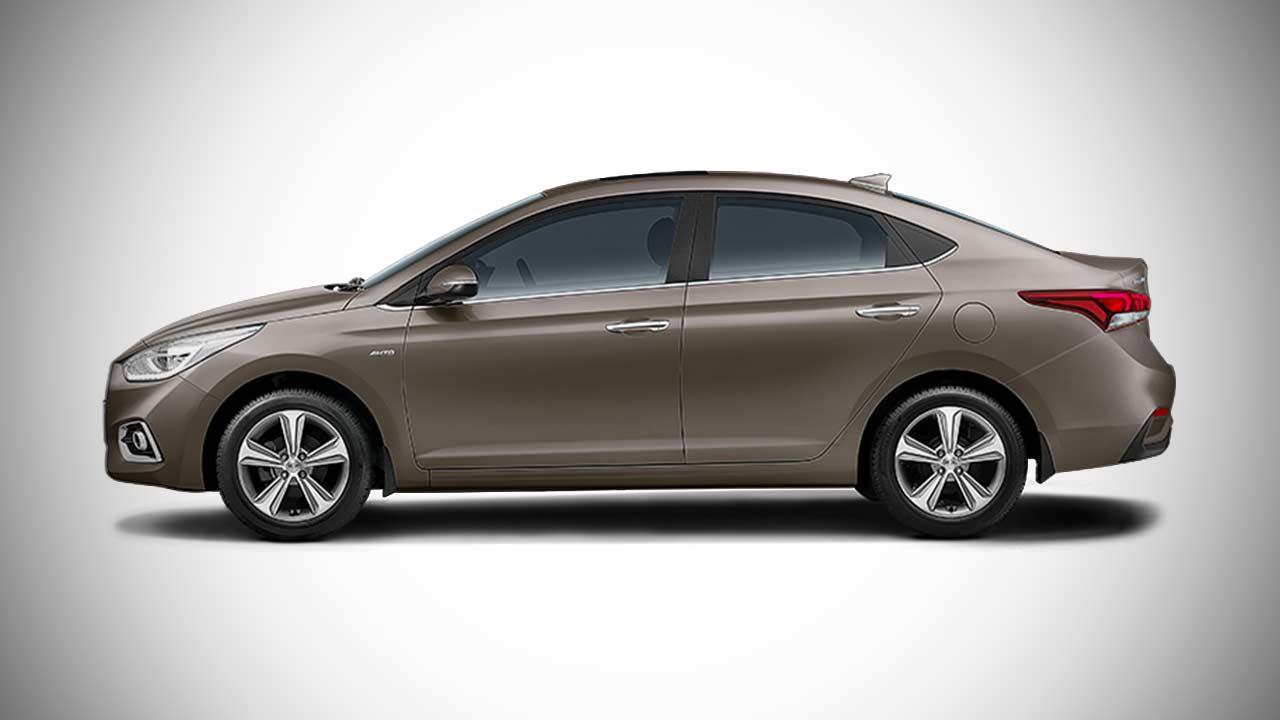 Verna Car Wallpaper 2017 New Hyundai Verna Siena Brown Autobics