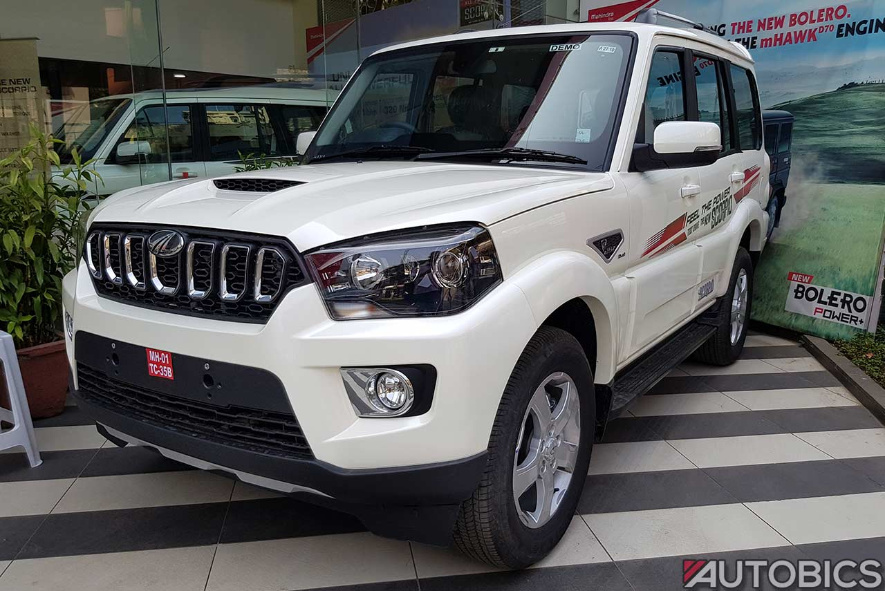 Black And White Diamond Wallpaper New Mahindra Scorpio Images And Video The Most